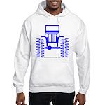 blue big wheel Hooded Sweatshirt