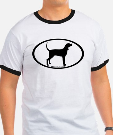 Coonhound #2 Oval T