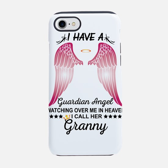 My Granny Is My Guardian Angel iPhone 8/7 Tough Ca
