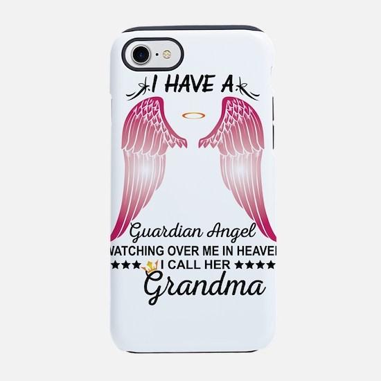 My Grandma Is My Guardian Angel iPhone 8/7 Tough C