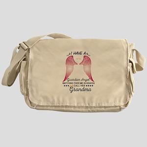My Grandma Is My Guardian Angel Messenger Bag