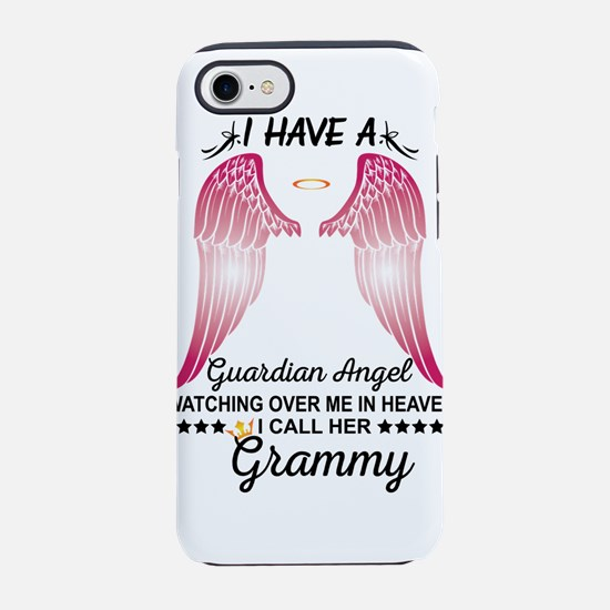 My Grammy Is My Guardian Angel iPhone 8/7 Tough Ca