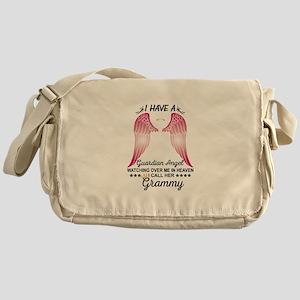My Grammy Is My Guardian Angel Messenger Bag