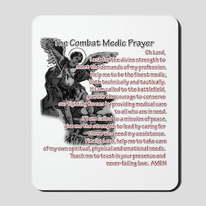 Combat Medic's Prayer Mousepad