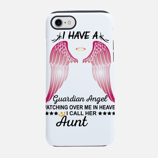 My Aunt Is My Guardian Angel iPhone 8/7 Tough Case