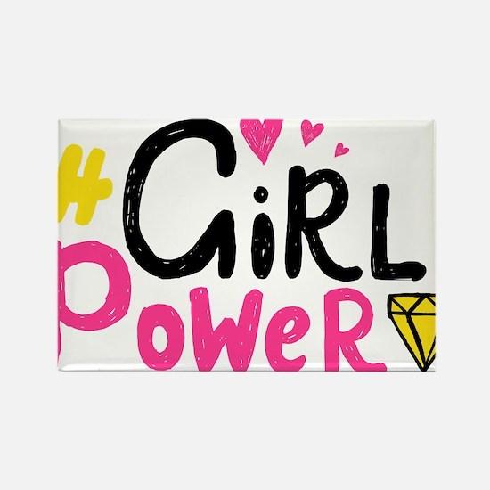 Girl Power Magnets