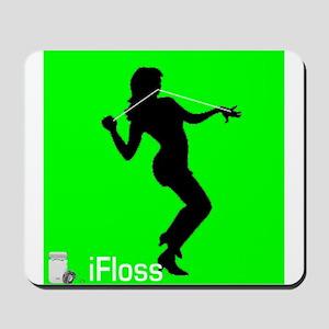 ifloss - i floss Mousepad