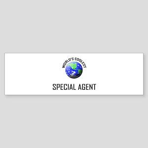 World's Coolest SPECIAL AGENT Bumper Sticker