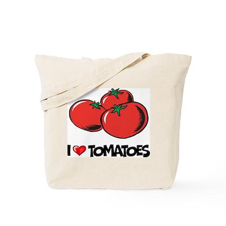 I Love Tomatoes Tote Bag