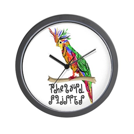The Bird Flipped Wall Clock
