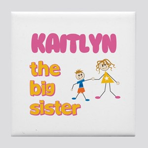 Kaitlyn - The Big Sister Tile Coaster