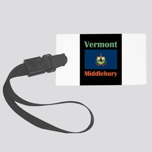 Middlebury Vermont Luggage Tag