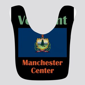 Manchester Center Vermont Polyester Baby Bib