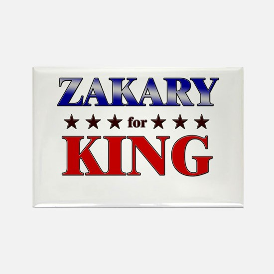 ZAKARY for king Rectangle Magnet