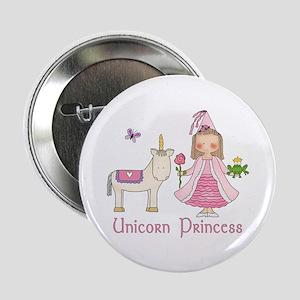 "Unicorn Princess 2.25"" Button"
