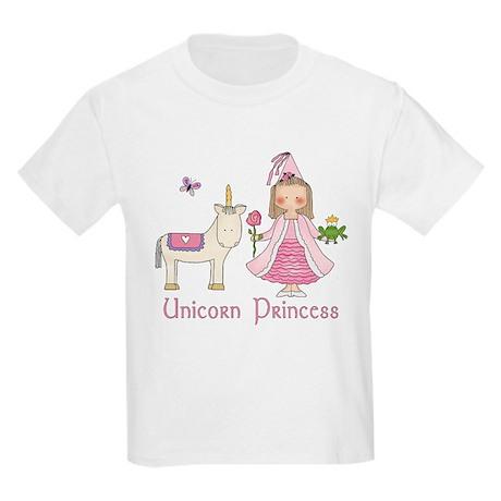 Unicorn Princess Kids Light T-Shirt