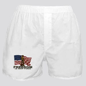FREEDOM NOT FREE Boxer Shorts