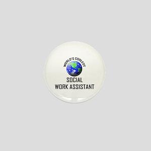 World's Coolest SOCIAL WORK ASSISTANT Mini Button
