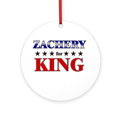 ZACHERY for king Ornament (Round)