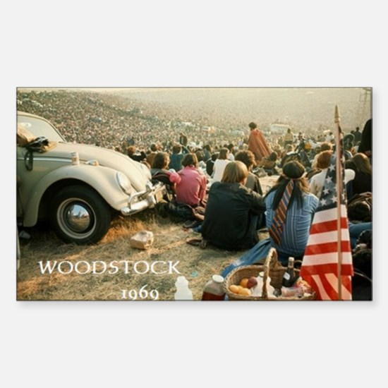 Woodstock Music Festival 1969 Decal