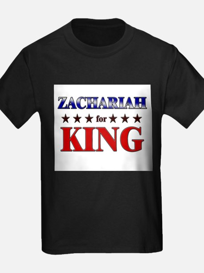 ZACHARIAH for king T