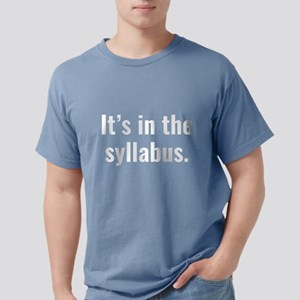It's In The Syllabus Women's Dark T-Shirt