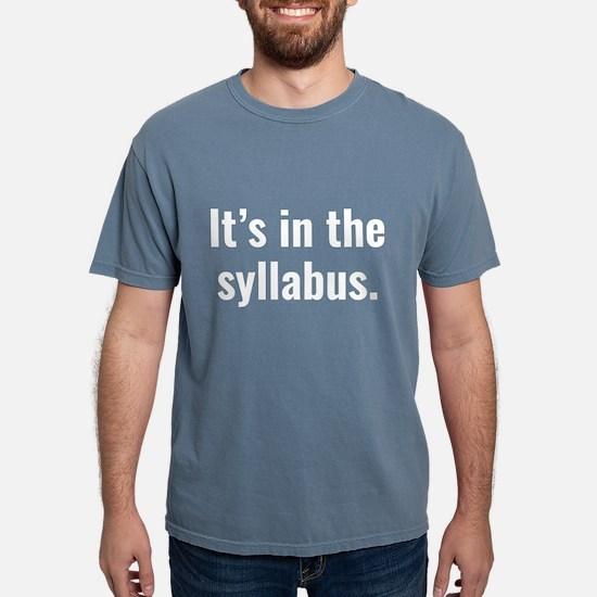 It's In The Syllabus Women's Dark T-Shirt