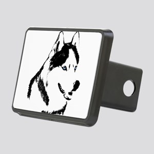 Siberian Husky Malamute Sled Dog Rectangular Hitch