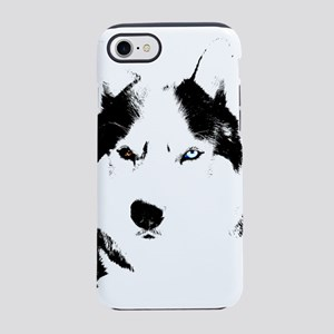 Siberian Husky Malamute Sled Dog iPhone 8/7 Tough