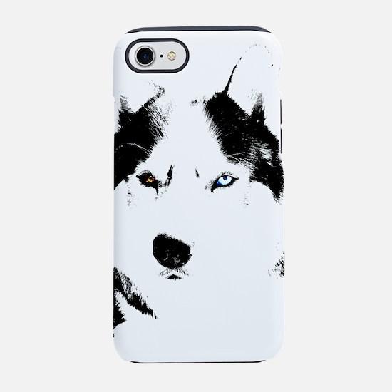 Siberian Husky Malamute Sled Dog iPhone 8/7 Tough