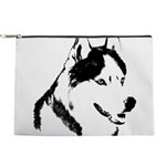 Siberian Husky Malamute Sled Dog Makeup Bag