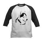 Siberian Husky Malamute Sled Dog Baseball Jersey