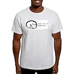 just do it Ash Grey T-Shirt