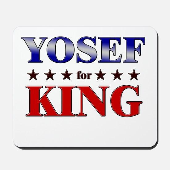 YOSEF for king Mousepad
