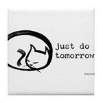 just do it Tile Coaster