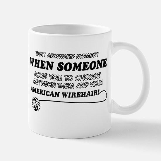 American Wirhair Design Mugs
