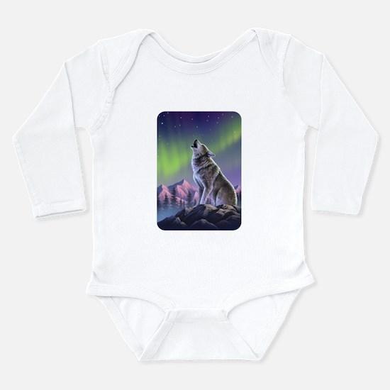 Howling Wolf 2 Infant Bodysuit Body Suit