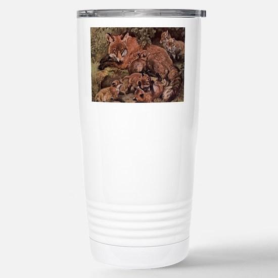 Cute Baby wild animals Travel Mug