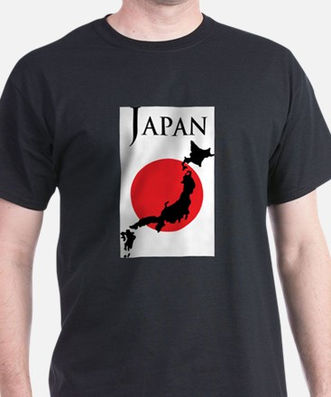 Map Of Japan T-Shirt