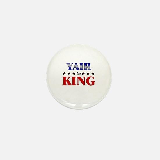 YAIR for king Mini Button