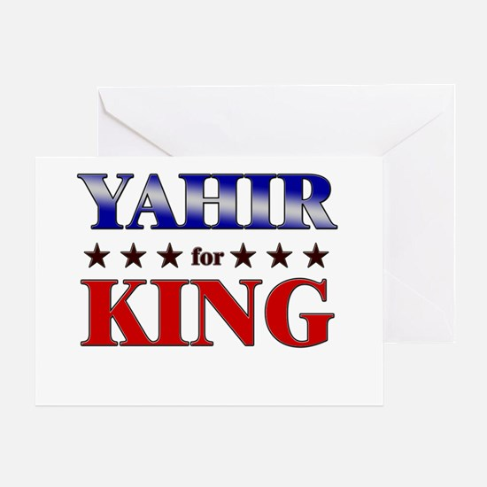 YAHIR for king Greeting Card