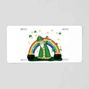 St. Patrick Dabbing Aluminum License Plate