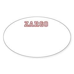 Zargo Decal