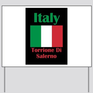 Torrione Di Salerno Italy Yard Sign