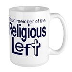 Large Mug - Proud Member of the Religious Left
