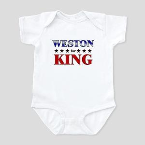 WESTON for king Infant Bodysuit