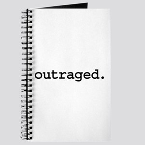 outraged. Journal