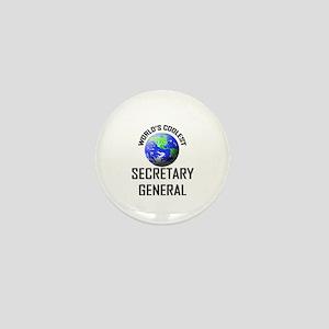 World's Coolest SECRETARY GENERAL Mini Button