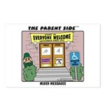 Mixed Messages Postcards (Package of 8)