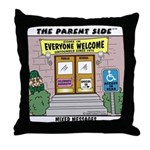 Mixed Messages Throw Pillow
